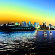 Sydney In Color Art Print