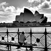 Sydney Love Affair Art Print