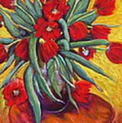 Sylvia's Red Lead Sinkers Art Print