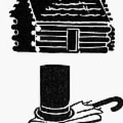 Symbols: Abe Lincoln Art Print