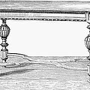 Table, 19th Century Art Print