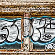 Tagged Window Art Print