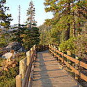 Tahoe Bridge Art Print by Silvie Kendall