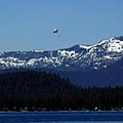 Tahoe Parasailing Art Print