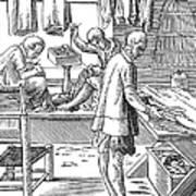 Tailors, 16th Century Art Print