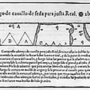 Tailors Pattern Book, 1589 Art Print
