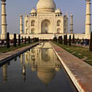 Taj Mahal Reflection Art Print