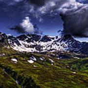 Talkeetna Mountains In Summer Art Print