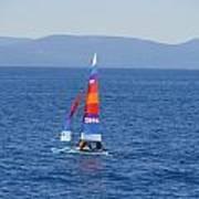 Tall Sail Art Print
