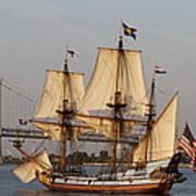 Tall Ship Four Art Print