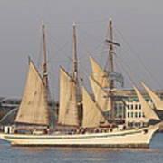 Tall Ship Seven Art Print