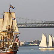Tall Ship Six Art Print
