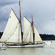 Tall Ship Tacoma Art Print by Bob Christopher