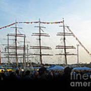 Tall Ships 2009. Klaipeda. Lithuania Art Print