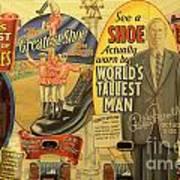 Tallest Man Sign Art Print