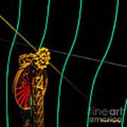 Tangent Graph Math Engine Art Print