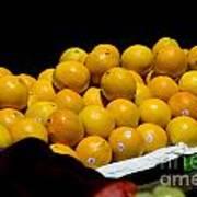 Tangerines For Sale Art Print