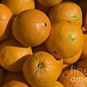 Tangerines Art Print by Tim Mulina