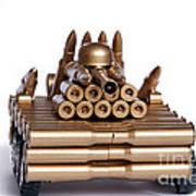 Tank From Shells Art Print