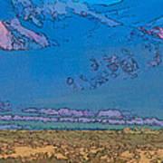 Taos Abstract Art Print