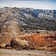 Taos Mountain View 1 Art Print