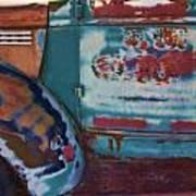 Taos  Truck 2 Art Print