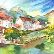 Tarascon Sur Ariege 01 Art Print