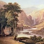 Tasmanian Gorge Art Print