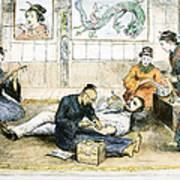 Tattoo Parlor, 1882 Art Print