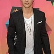 Taylor Lautner At Arrivals Art Print