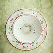 Tea Leaves Art Print by Stephanie Frey