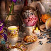 Tea Party - The Magic Of A Tea Party  Art Print