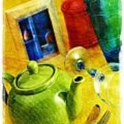Tea Pot Art Print