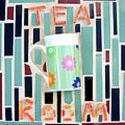 Tea Room Art Print