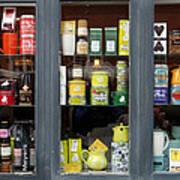 Tea Shop Art Print