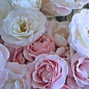 Tea Time Roses Art Print