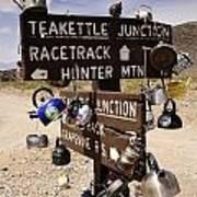 Teakettle Junction Art Print