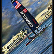 Team Oracle On The Bay Art Print