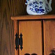 Teapot On Cabinet Art Print