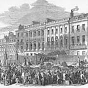 Temperance Rally, 1853 Art Print