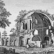 Tempio Di Minerva Medica In Roma, 18th Print by Photo Researchers
