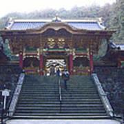Temple Entrance Art Print