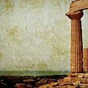 Temple Of Juno Art Print
