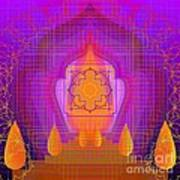 Temple Of The Inner Flame 2012 Art Print