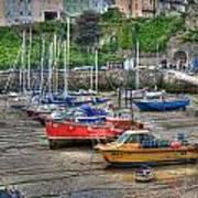 Tenby Harbour In Summer 3 Art Print