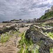 Tenby Rocks 2 Art Print