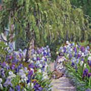 Tending The Masters Garden Art Print