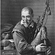 Teniers: The Bagpiper Art Print