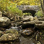 Tennessee Stone Bridge 6062 Art Print