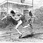 Tennis: Wimbledon, 1880 Art Print by Granger